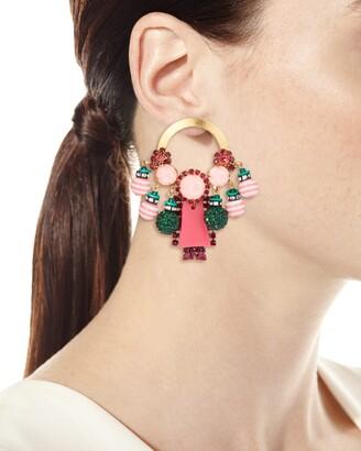Elizabeth Cole Callie Drop Earrings