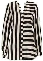 Wallis Monochrome Striped Shirt