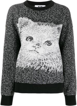 MSGM Knitted Sweatshirt