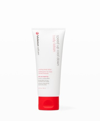 Lululemon Speed Up Cool Down Body Lotion