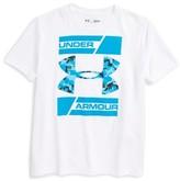 Under Armour Boy's Double Decker Graphic Heatgear T-Shirt