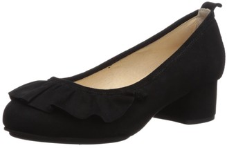 Yosi Samra Women's NINA Pump Black 7 M US