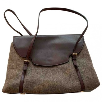 Valextra Brown Leather Handbags
