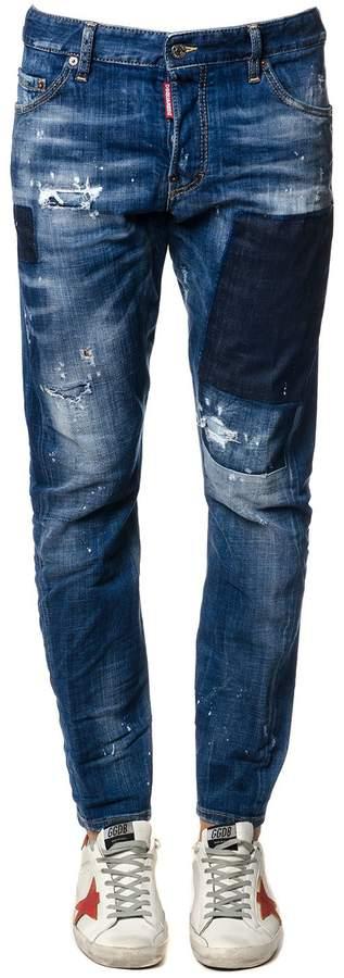 DSQUARED2 Michael Bublè Blu Denim Jeans