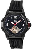 Reign Hapsburg Collection Men's Automatic Silicone and Stainless Steel Watch