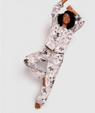 Bras N Things Giovana Print Long Pant - Floral Print