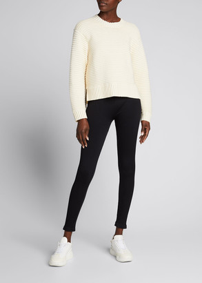 Varley Talbert Ribbed Sweater w/ Side Zips