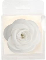 La Stéphanoise La Stephanoise Small Fabric Flower, White