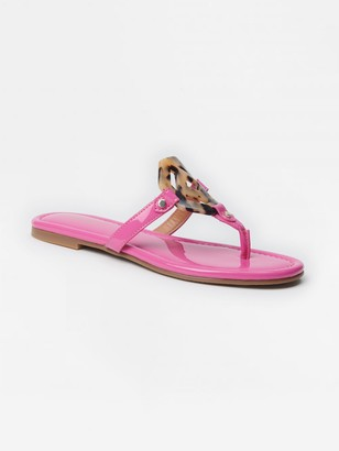 J.Mclaughlin Lucy Patent Leather Sandals