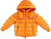 Moncler Boys' Hooded Ski Jacket, Orange