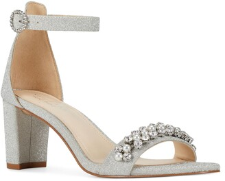 Nine West Passion Embellished Ankle Strap Sandal
