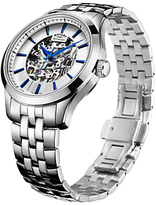 Rotary Mécanique Skeleton Bracelet Strap Watch