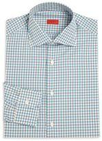 Isaia Regular-Fit Check Shirt