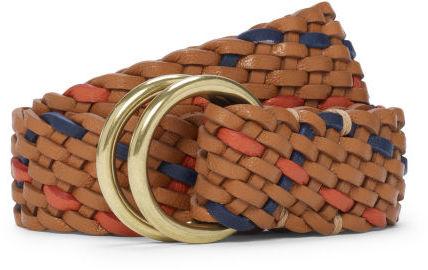 Club Monaco O-Ring Flat Braided Belt