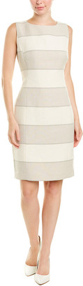 Lafayette 148 New York Carol Linen-Blend Sheath Dress