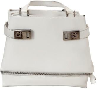 Salvatore Ferragamo White Patent leather Handbags