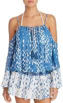 Surf Gypsy Cold Shoulder Dress Swim Cover-Up