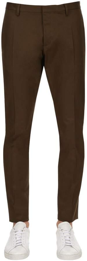 DSQUARED2 16.5cm Tidy Cotton Twill Chino Pants