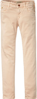 Scotch & Soda Le Voyage - Garment Dyed Stretch Sateen | Super Skinny Fit