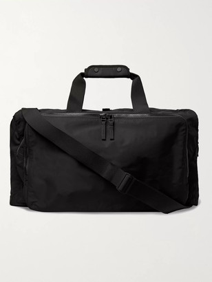 James Perse Long Trip Nylon Duffle Bag - Men - Black
