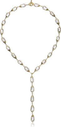 Noir Harlequin Y-Shaped Necklace