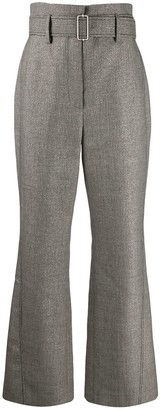 Peter Pilotto Kick-Flare Tweed Trousers