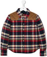 DSQUARED2 western plaid shirt