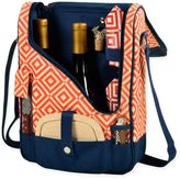 Picnic at Ascot Bold Wine and Cheese Cooler Bag for 2 in Navy