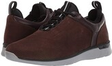 Johnston & Murphy Prentiss U-Throat (Chocolate Oiled Waterproof Nubuck) Men's Lace up casual Shoes
