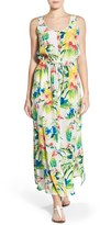 Tommy Bahama Women's 'Fleur De Lite' Silk Maxi Dress