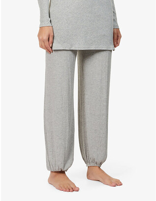Eberjey Elon relaxed-fit mid-rise stretch-rayon pyjama bottoms