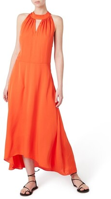 David Lawrence Halter Neck Dress