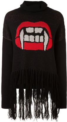 Haculla Caught up fringed sweater