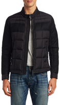 Moncler Solid Quilted Coat