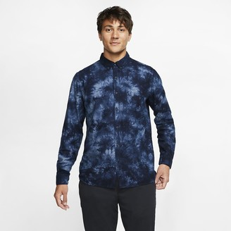 Nike Men's Long-Sleeve Woven Top Hurley Jerry