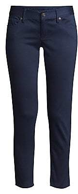 Lilly Pulitzer Women's Worth Low-Rise Sateen Skinny Jeans