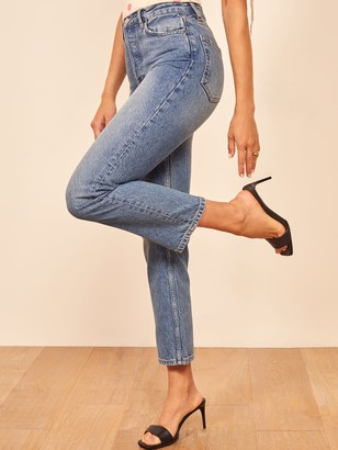 Reformation Cynthia Crop High Relaxed Jean