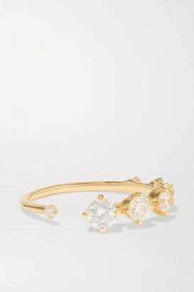 Fernando Jorge Sequence 18-karat Gold Diamond Ring