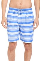 Peter Millar Men's Vintage Stripe Swim Trunks