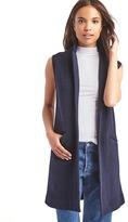 Gap Wool blazer vest