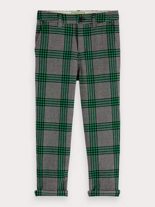 Scotch & Soda Plaid Trousers Loose tapered fit