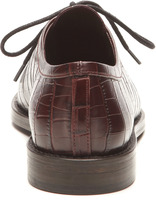 Opening Ceremony Embossed Leather Oxfords