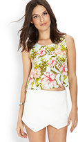 LOVE21 LOVE 21 Botanical Bloom Top