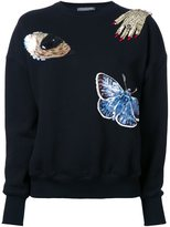 Alexander McQueen embellished sweatshirt