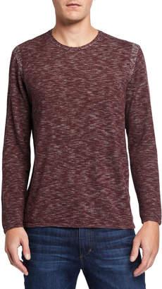 John Varvatos Men's Long-Sleeve Slub Jersey T-Shirt