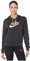 Nike NSW Gym Vintage Hoodie HBR (Black/Sail) Women's Sweatshirt