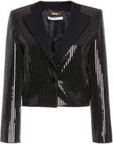 Givenchy Embellished Cropped Blazer