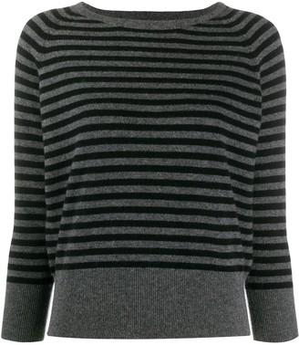 Societe Anonyme Striped Cashmere Jumper