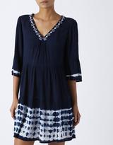 Monsoon Harper Tie Dye Long Sleeve Dress