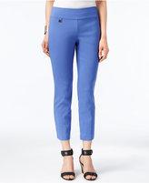 Alfani Petite Tummy-Control Pull-On Capri Pants, Only at Macy's